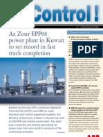 Az Zour 800 MW Open Cycle GT Kuwait Emergency power 2008.pdf