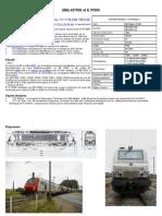 Modélisme ferroviaire à l'échelle HO. Fiche compos BB 437000 et E 375000 par Laurent Arqué