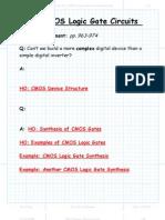 CMOS Logic Gate Circuits Package