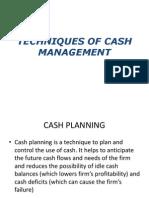cash mgt