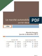 L'année automobile 2012