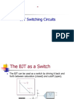 BJT switching circuits