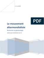 Altermondialisme, Abdelilah Cherkaoui Encg j3125