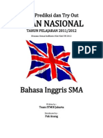 Soal Try Out UN 2012 SMA BAHASA INGGRIS Paket 06