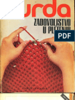 Burda Zadovoljstvo u Pletenju, Prisucnik za pocetnike. strikanje (pletenje)