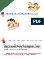 Metode de Disciplinare Pozitiva.parinti