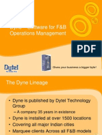 Dyne POS software for restaurants