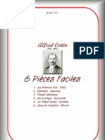 Alfred Cottin 6 Pieces Faciles (1)