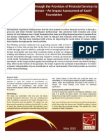 Impact Assessment Brief- Kashf Foundation May 2010