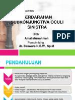 subconjunctival bleeding