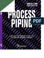 Process Piping