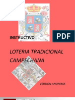 INSTRUCTIVO Loteria Campechana