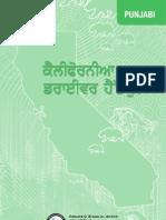 California Driving Textbook in Punjabi