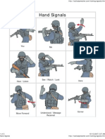tactical hand signs