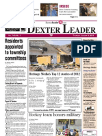 The Dexter Leader Front Page Jan. 3, 2013