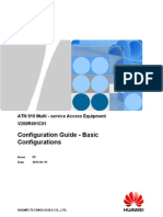 Configuration Guide Basic Configurations (V200R001C01_03)