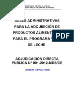 adjudicacion directa publica