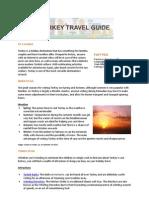 Hotels4U Turkey Travel Guide