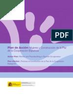 Plan de acción. Mujeres y construcción de la paz de la cooperación española