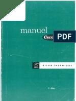 Manuel Carrier - Bilan Thermique