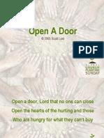 Open a Door