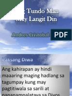 ANg Tundo Man ay May Langit Din.ppt