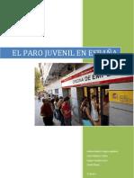 El desempleo juvenil en España