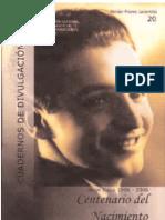 Centenario del nacimiento de Jorge Icaza