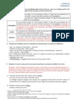Grammaire appliquée - L1ES510 Corrigé DST 2 groupe D