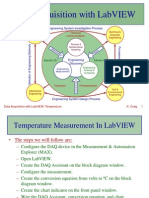 Data Acquisition With LabVIEW - Temperature