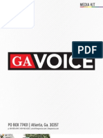 GA Voice Media Kit - 2013 National Print