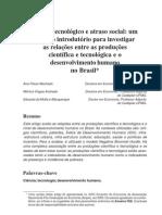 Atraso tecnológico e social_Eduardo Mota