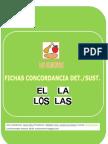 ESTRUCTURA DE FRASES UD. LOS ALIMENTOS (ARTÍCULO/SUSTANTIVO)