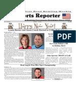 January 1 - 8, 2013 Sports Reporter