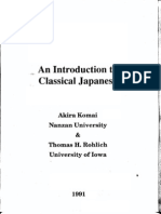 An introduction to Classical Japanese (Komai).pdf