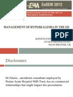 Hypekalemia EUSEM 2012