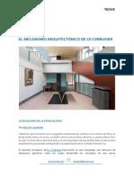 El Mecanismo Arquitectónico de Le Corbusier
