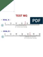 TEST MG 0,05