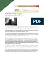 FHAs Delicate Balancing Act