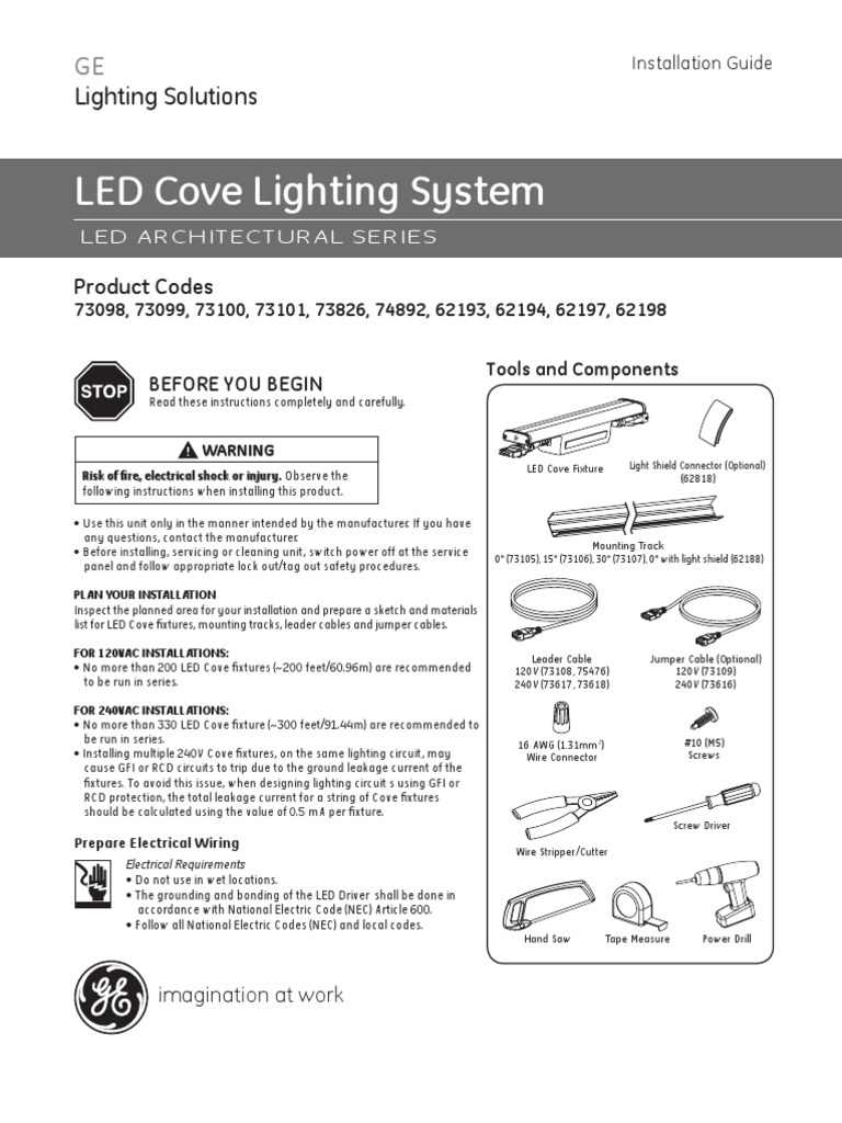Geled Coveinstallinstructions Electrical Connector Cable