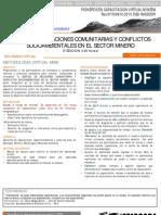 gestion de las relaciones comunitarias y conflictos