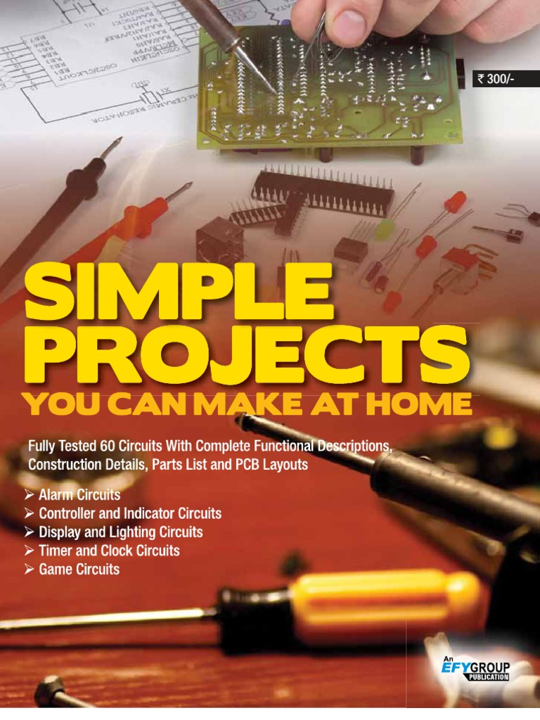 simple projects you can make at home (gnv64) electronic circuits