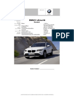 Specs. X1 sDrive18Standar (1)