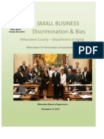 Milwaukee County Small Business Discrimination[1]