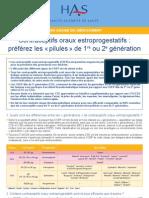 Contraceptis Oraux 3 g Fiche Bum