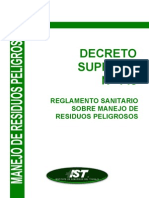 DS 148 Manejo de Residuos Peligrosos