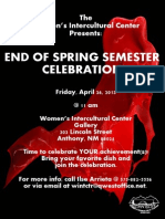 4-26-13 End of Semester Celebration