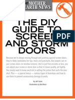 DIY Guide to Screen and Storm Doors