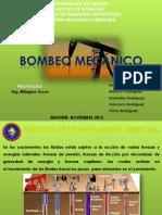 Presentación de bombeo mecanico