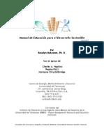 Manual  de Educación para el Desarrollo Sostenible